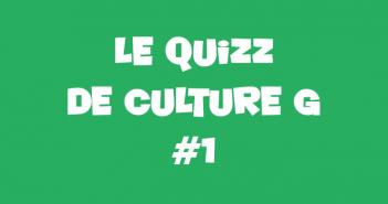 quizz culture generale 1